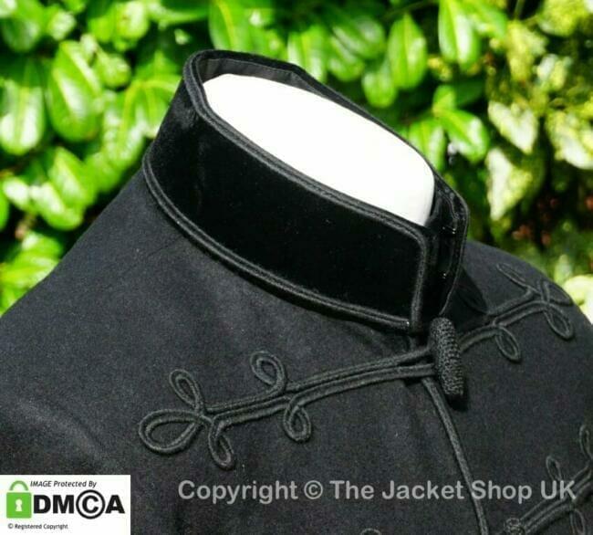 Velvet collar Victorian Smoking Jacket
