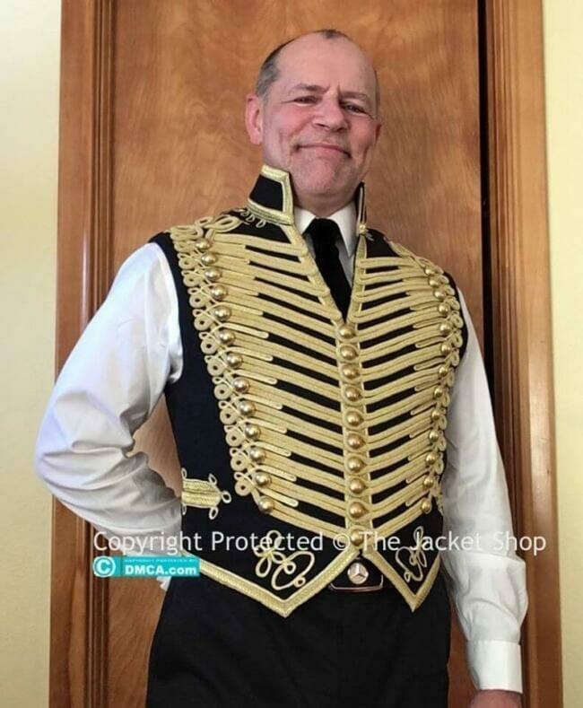 buy victorian military waistcoat - Customer Gallery