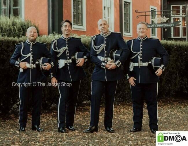 military wedding uniform custom made