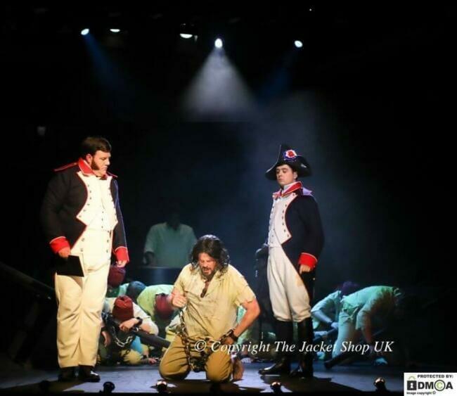napoleonic uniform reenactment.
