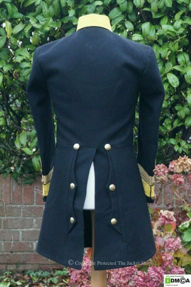 Emperors Military Jacket Coat Back View