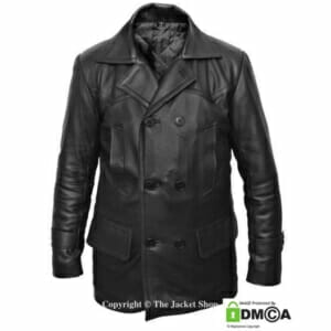 9th Dr. Who Leather Jacket