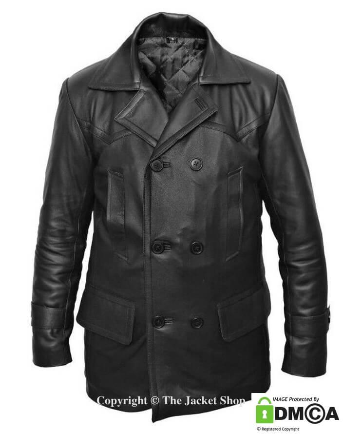 Doctor Who Leather Jacket