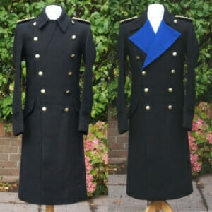 WW2 German Kriegsmarine Navy Admiral Wool Overcoat Dress Jacket Tunic