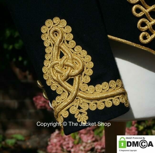 Royal Artillery Jacket cuff detail