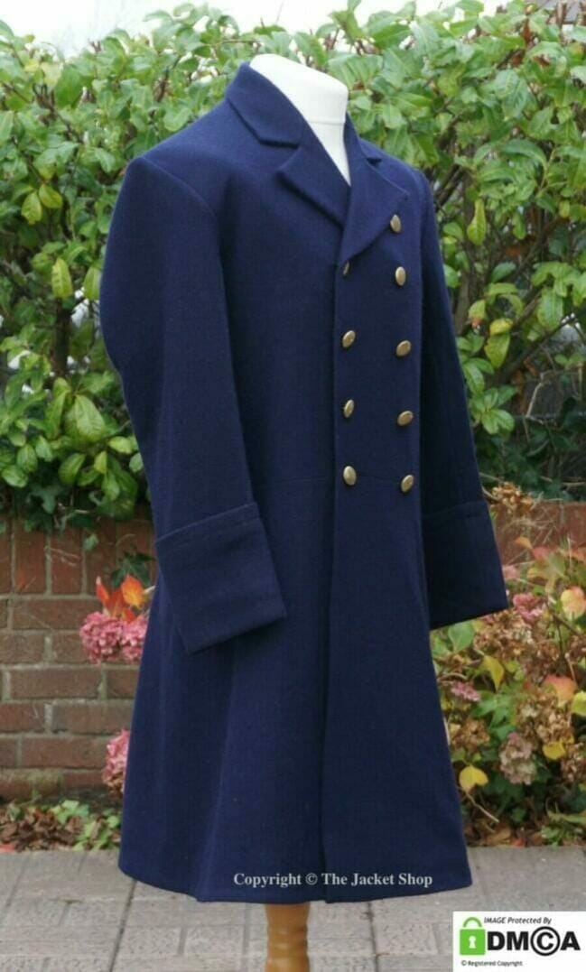 Custom made military or naval frock coat