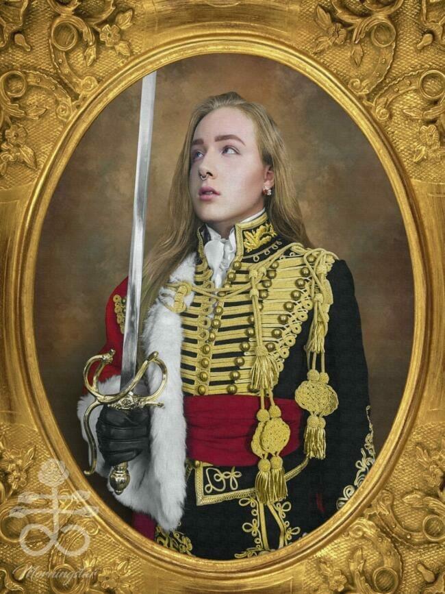 Hussar Portrait Morningstar