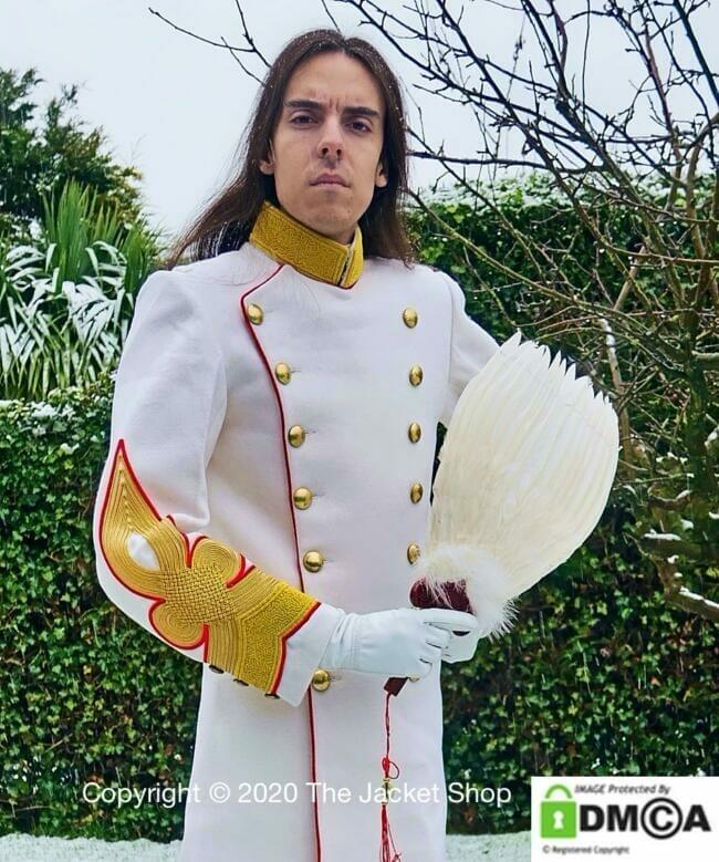 Lord Josh Allen wearing Emperor Uniform