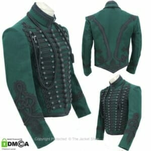 Napoleonic Rifleman officers jacket Green Rifles