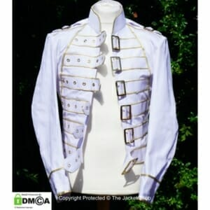 Freddie Mercury White Jacket
