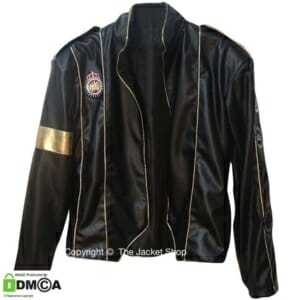michael jackson elizabeth taylor tribute leather jacket buy MJ