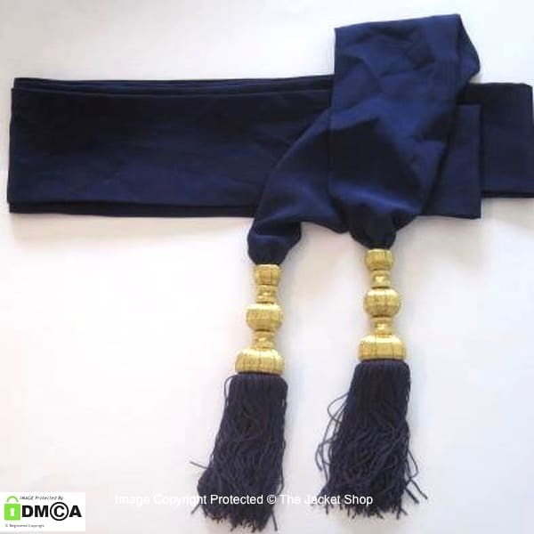 Military Ceremonial Waist Sash in any colour or size