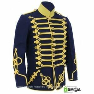 swedish dolman hussars m 1895 uniform jacket Skane regiment officer sweden